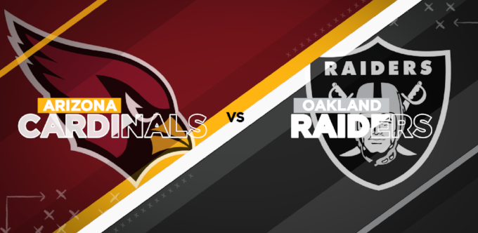 More Info for Raiders vs. Cardinals