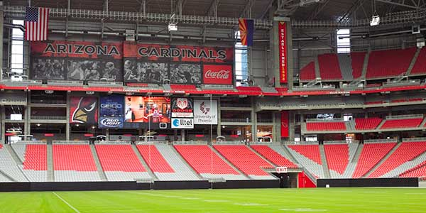 Interactive Seating Chart This Shows Arizona Cardinals