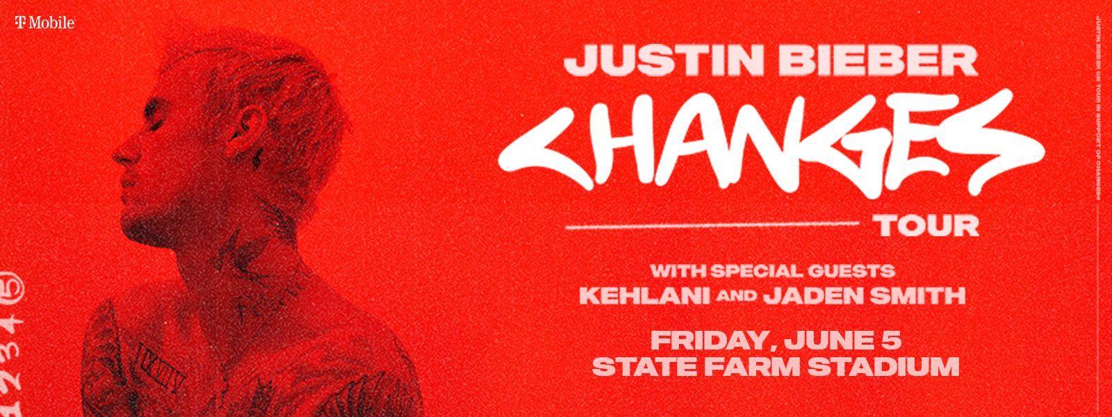 Justin Bieber Changes Tour